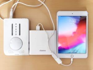 iPhone・iPadにオーディオインターフェイスを接続する方法 RME BabyFace編